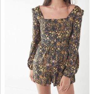 NWT Urban Outfitters Paulina Floral Romper